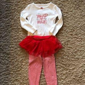 Carter's Holiday outfit